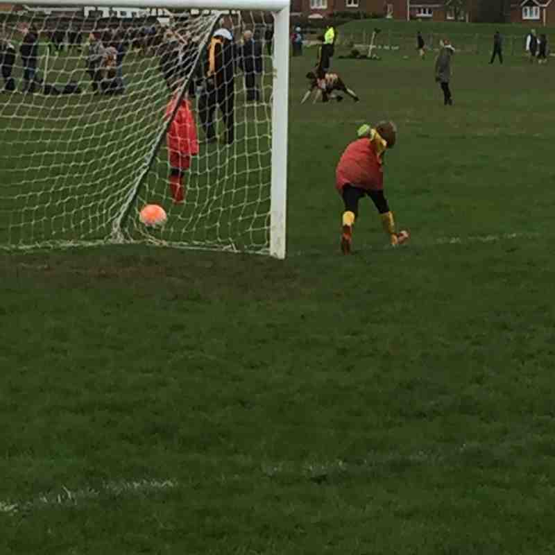Market Harboro v Panthers U7's 24th Jan 2016
