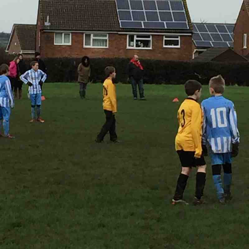 Loughborough Dynamo Gold v Ibstock Tigers U11