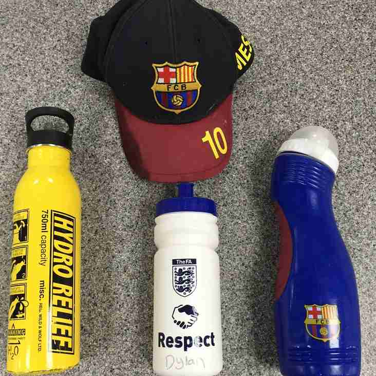 Items left after training