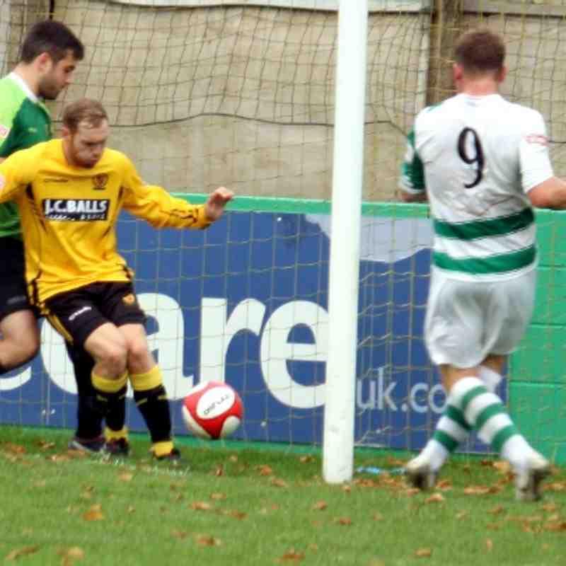 cup : Belper Town 2 v Loughborough Dynamo 0 5/10/2013