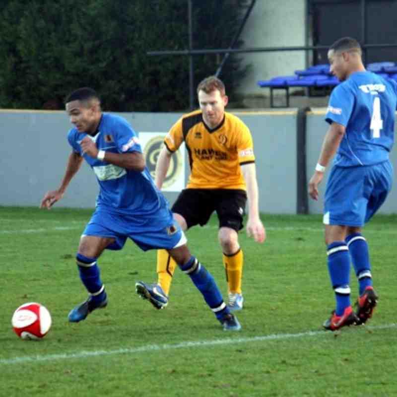 Loughborough Dynamo 2 V Mickleover Sports 4 26/12/2013