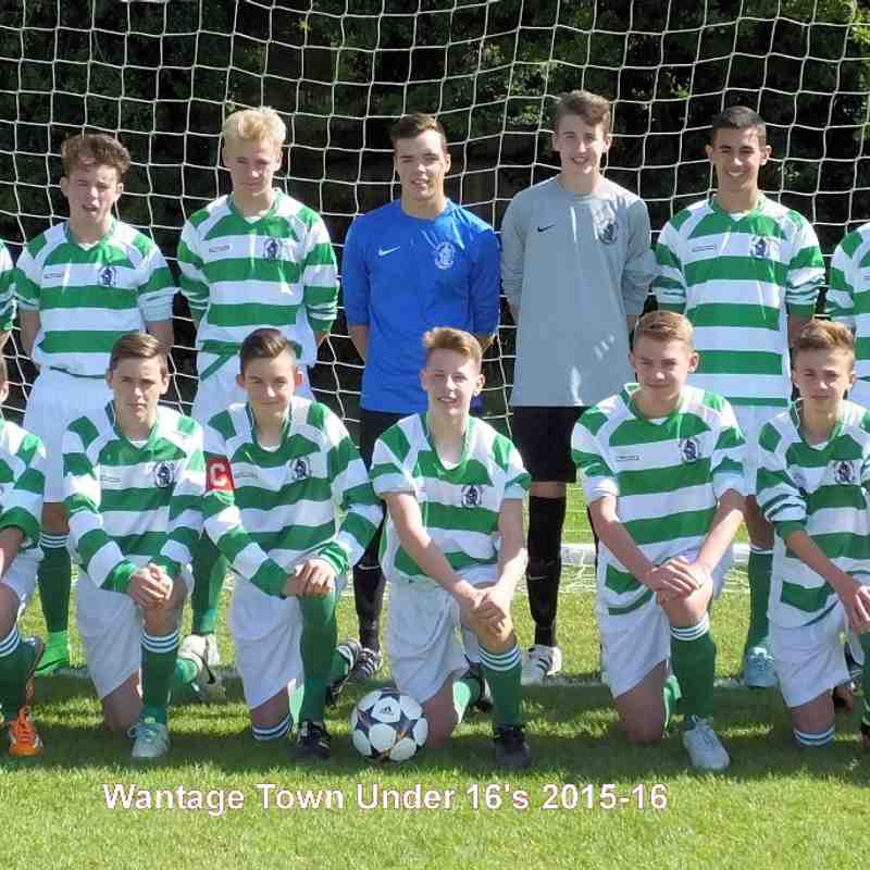 Wantage Youth U16  2015/2016