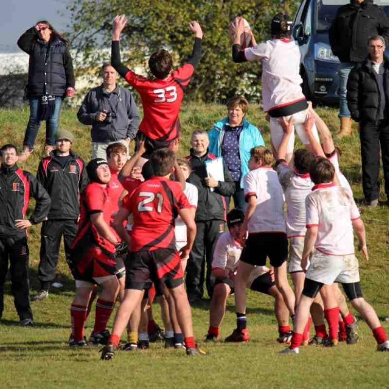 Gabby's photos - U16s V Chester Nov 2012