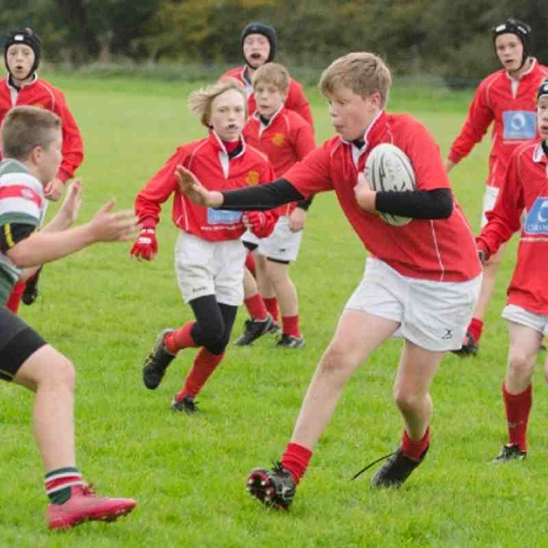 U13s v Wrexham Dec 2012