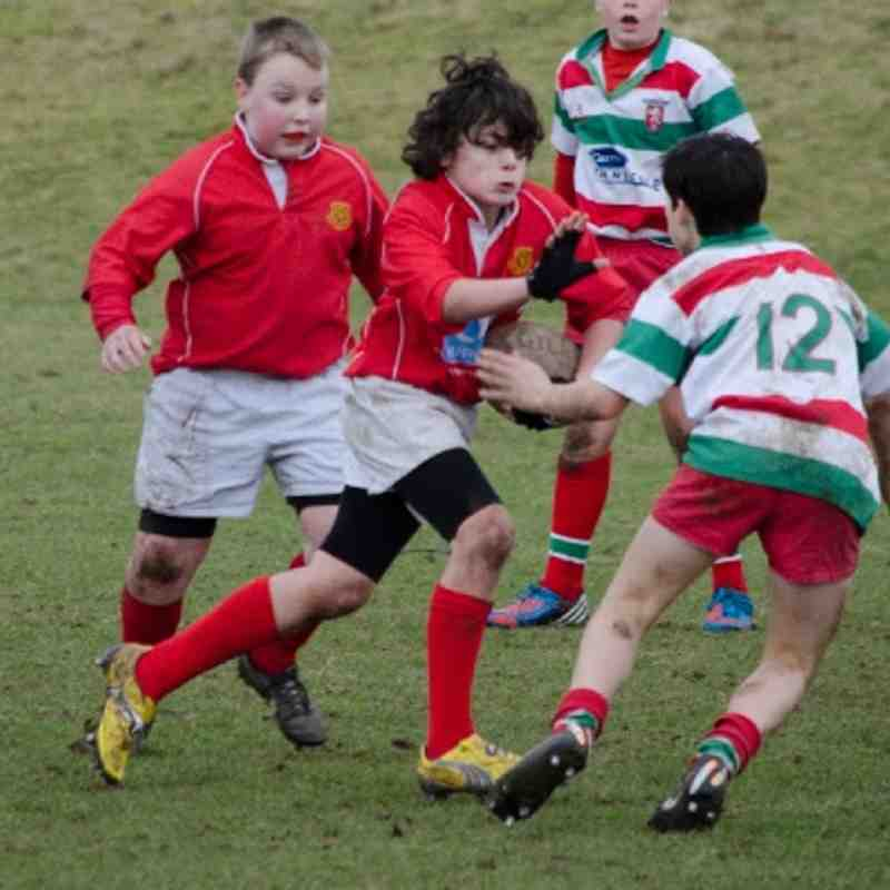 U13s v Warrington Feb 2013