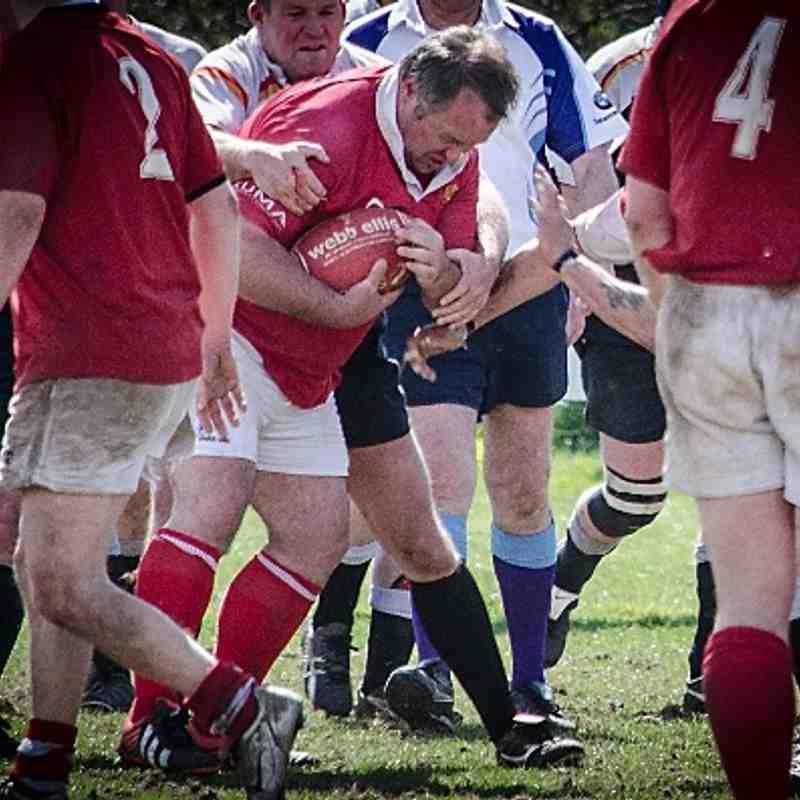 Rugby Vets v Crewe April 2013