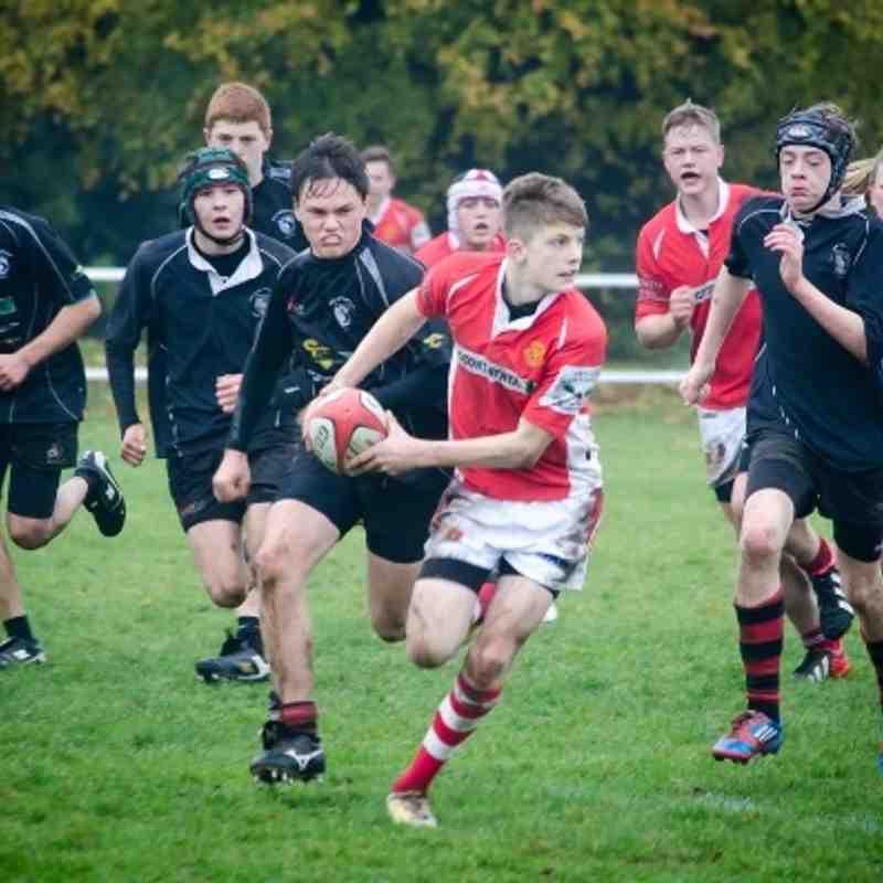 U16s v Wolverhampton Nov 2013