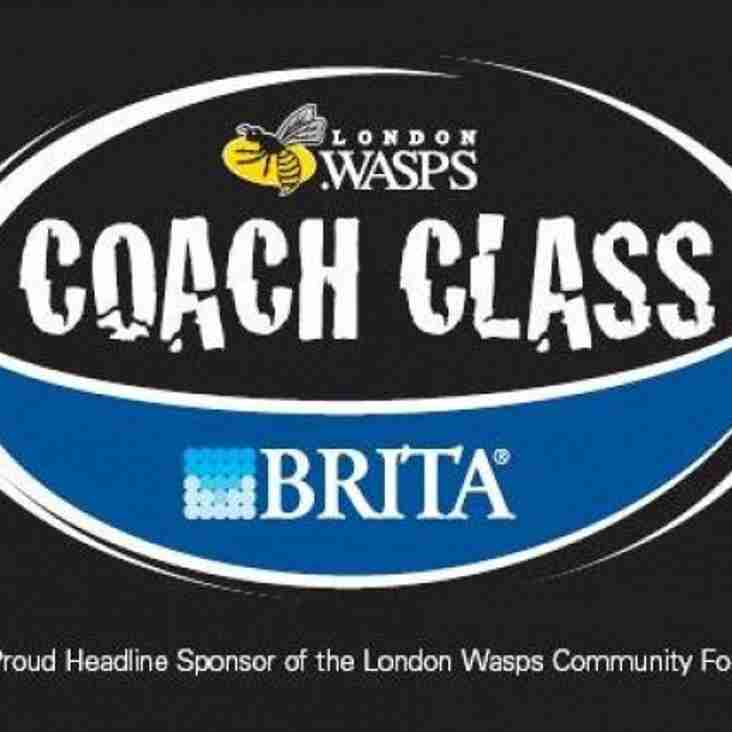 London Wasps Coachclass - Fri 30th May (09:45 - 15:30)