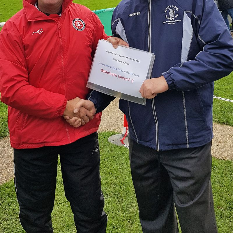 Wessex League team wins the September Respect Award!