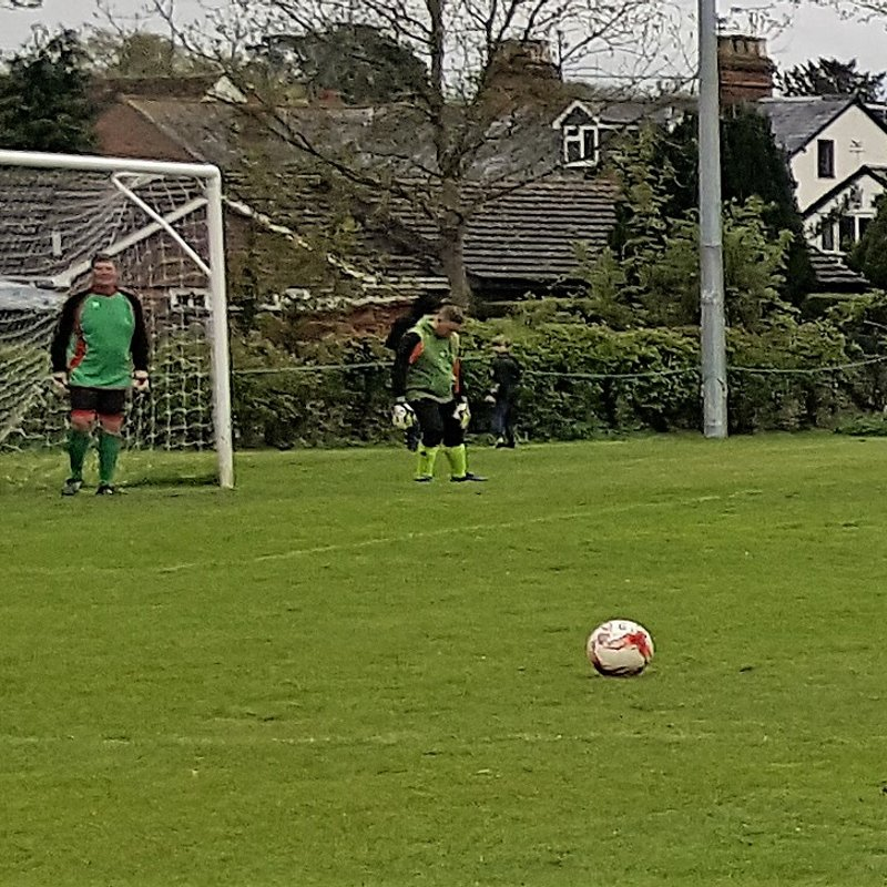 Whitchurch retain Rotten Hill Cup!