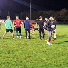 Francis Benali training session - Oct 2018
