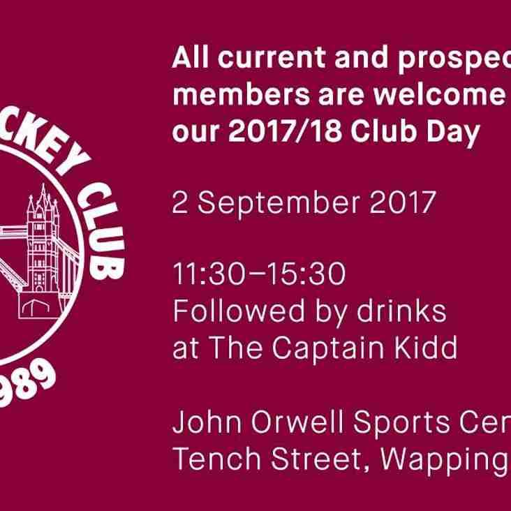 Club day 2017