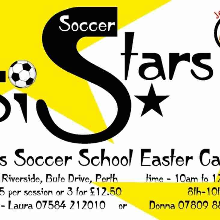 Soccer SiStars Easter School
