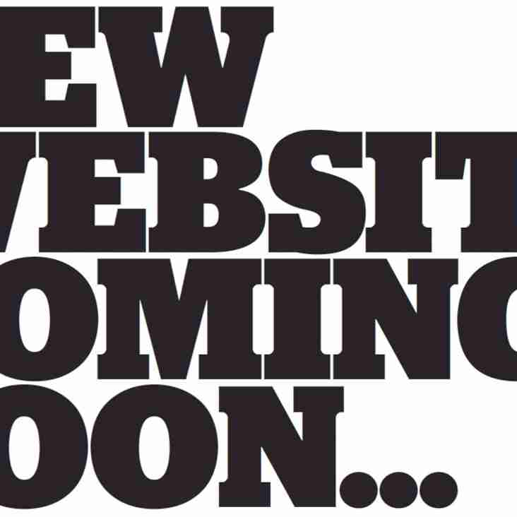 New Updated Website - Coming Soon!