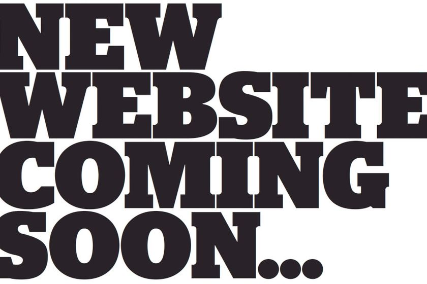 New Updated Website - Coming Soon!