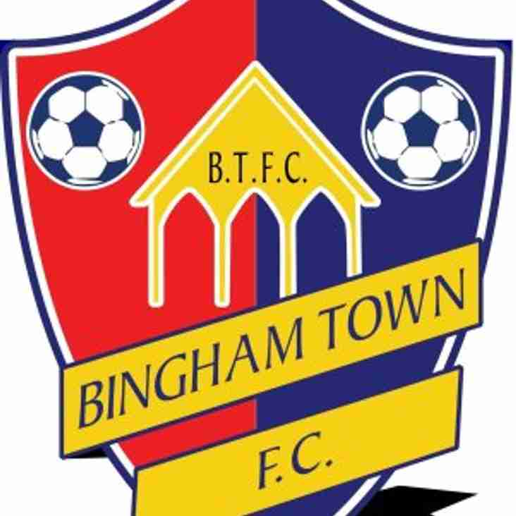 Bingham Town FC Announce New Chairman