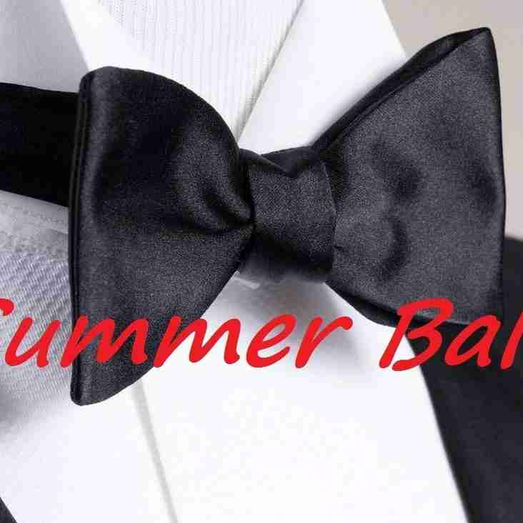 BRUFC 2018 SUMMER BALL – Saturday 30th June