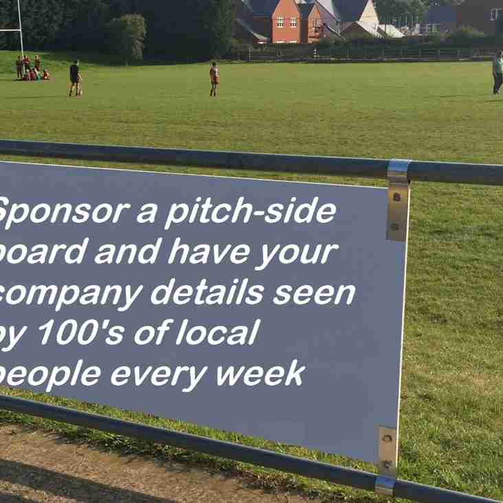 Interested in Sponsoring the Club?