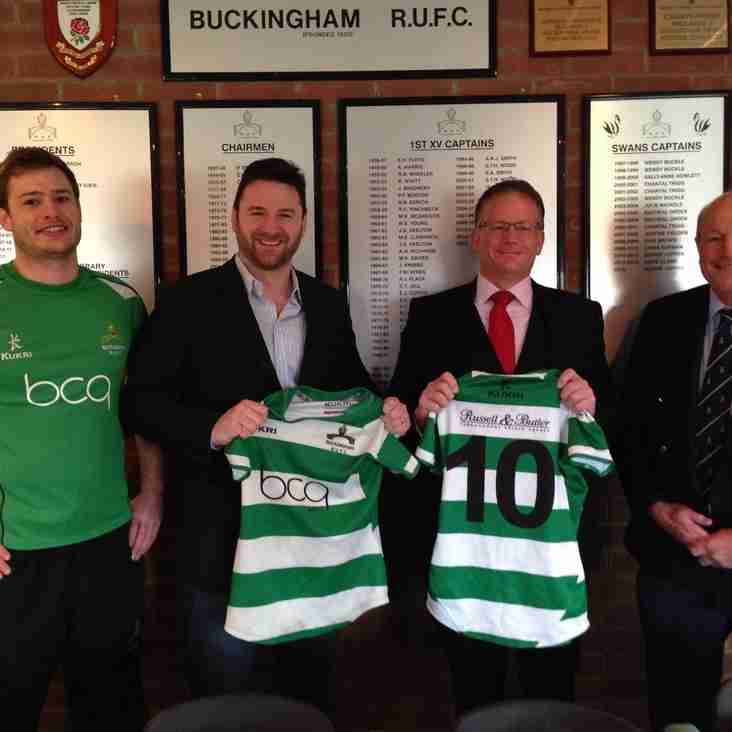 MAJOR SPONSORSHIP DEALS SECURED WITH BCQ AND RUSSELL & BUTLER