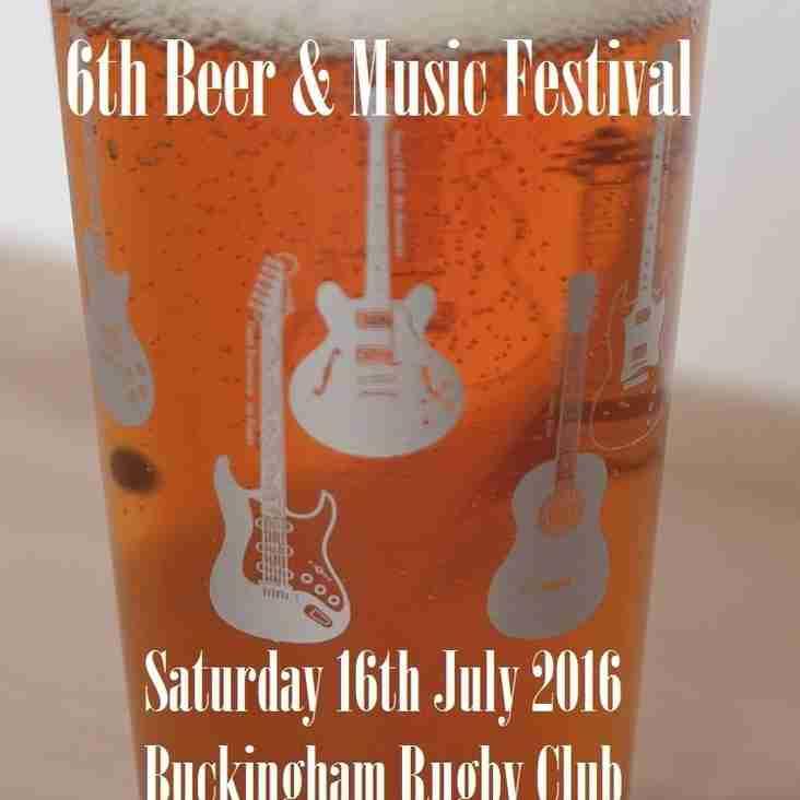 BUCKINGHAM BEER AND MUSIC FESTIVAL