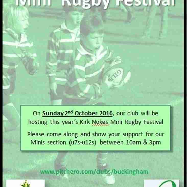 MINI RUGBY FESTIVAL