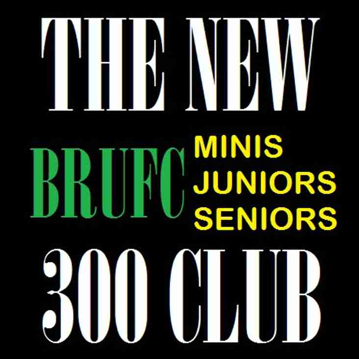 Congratulations to our 300 Club Winners