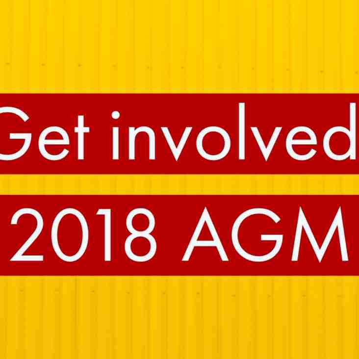 AGM: Tuesday 24th July