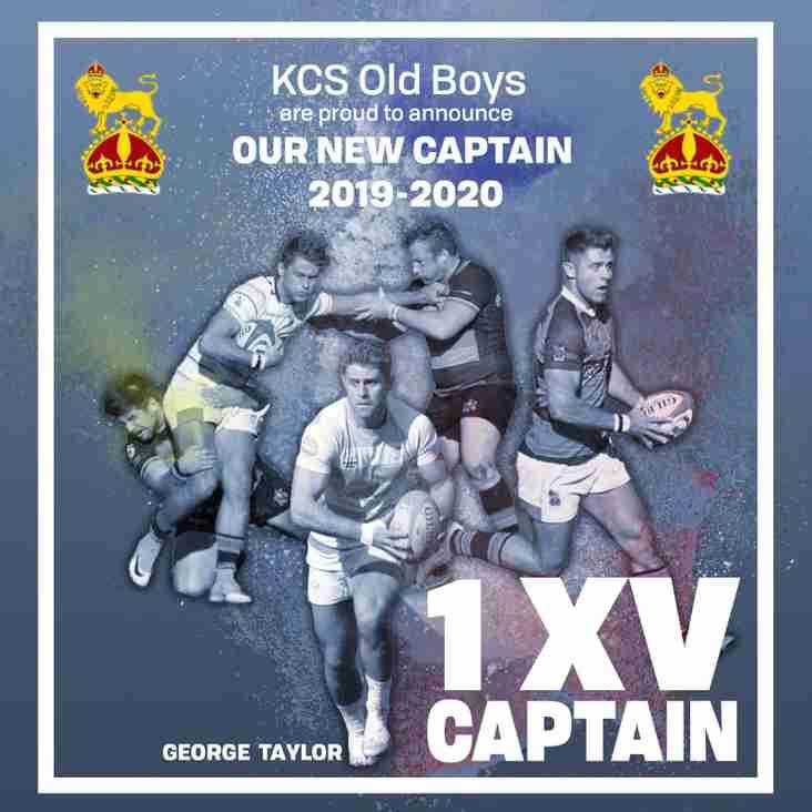 New 1XV Captain For 2019-20