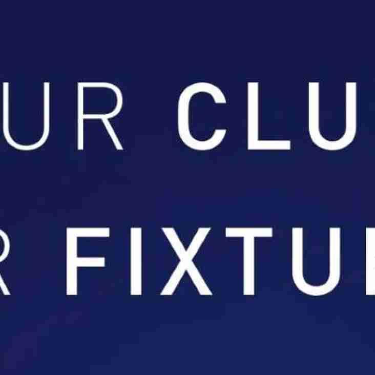 1XV Fixtures 2019-20