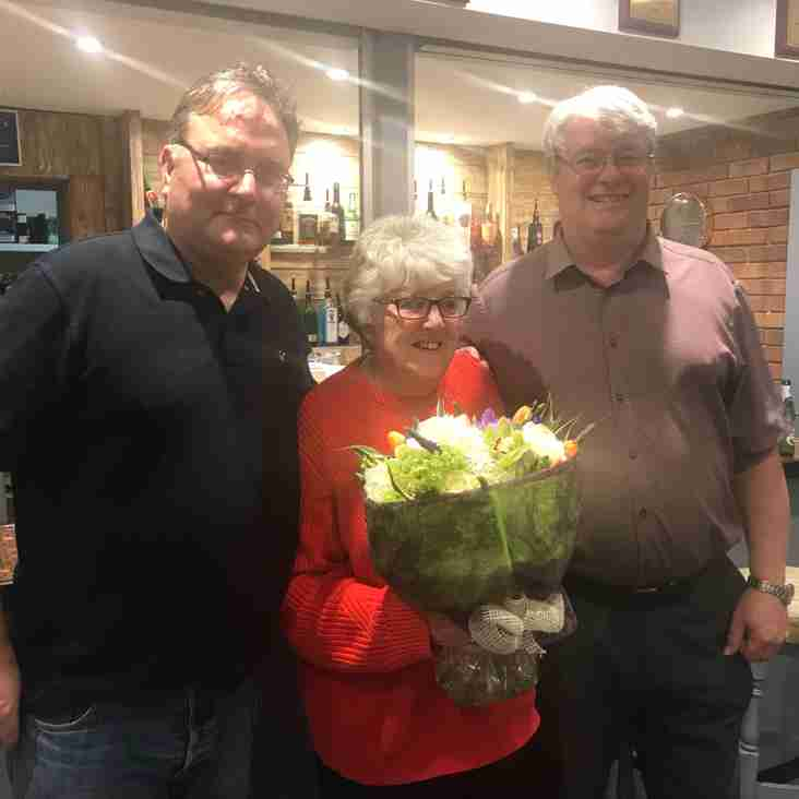 Carol Few awarded Life Membership