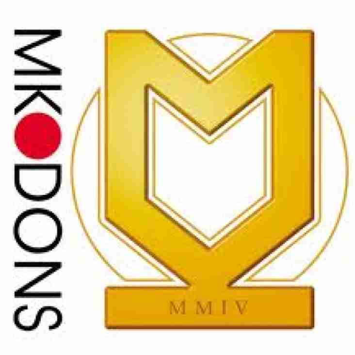 MK Dons Kids for a Quid