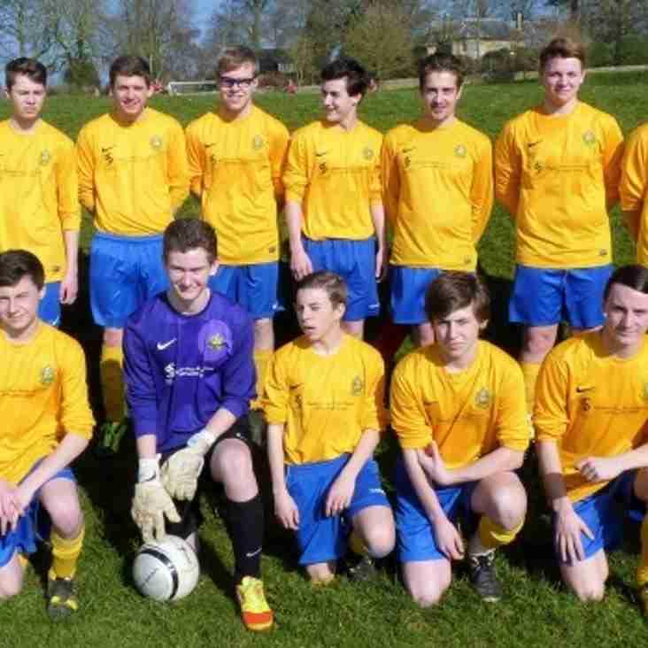 Bardwell FC U16 Reach County Cup Semi Final