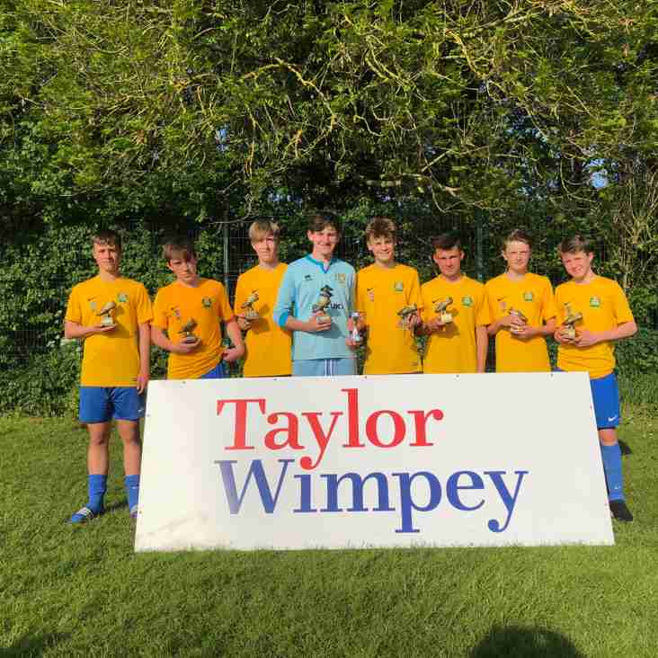 Bardwell U14 Win Chesterton 2018 Tournament