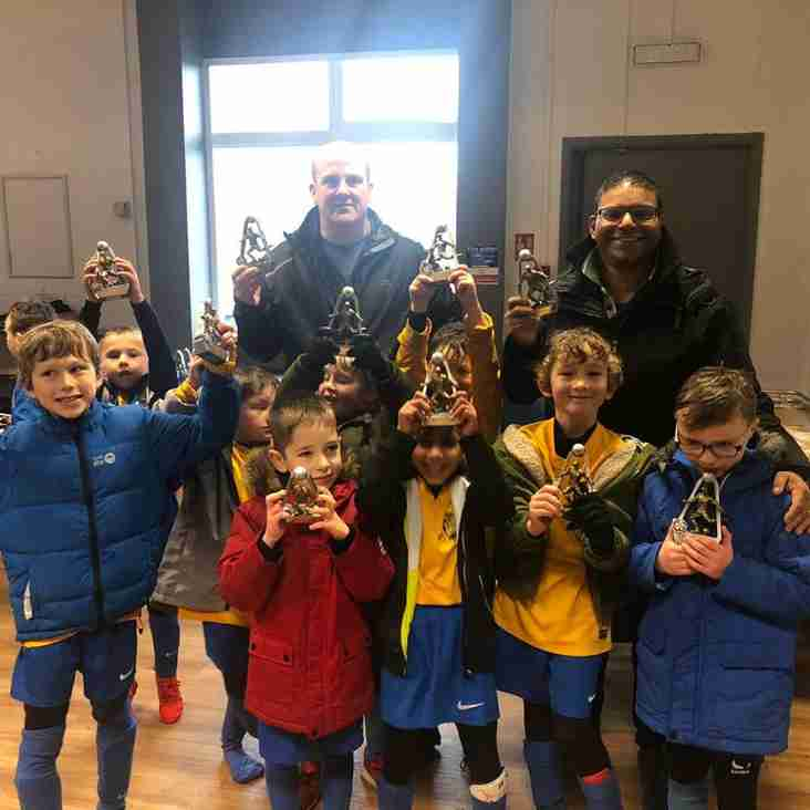 Bardwell U8s - League Cup Runners Up