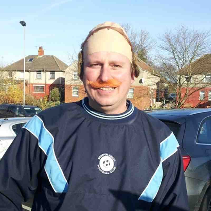 Under 8's Movember tournament at Idle, Nov 18th 2012