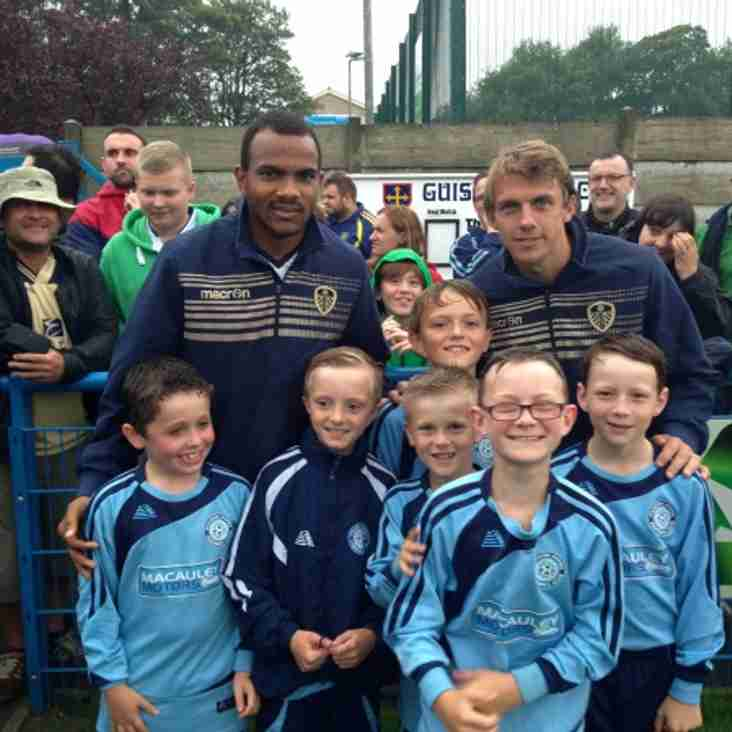 Menston Under 10s at Guiseley v Leeds