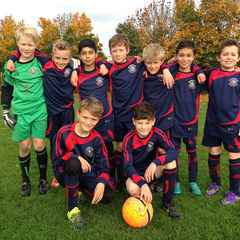 Menston JFC sponsor football kit for local schools