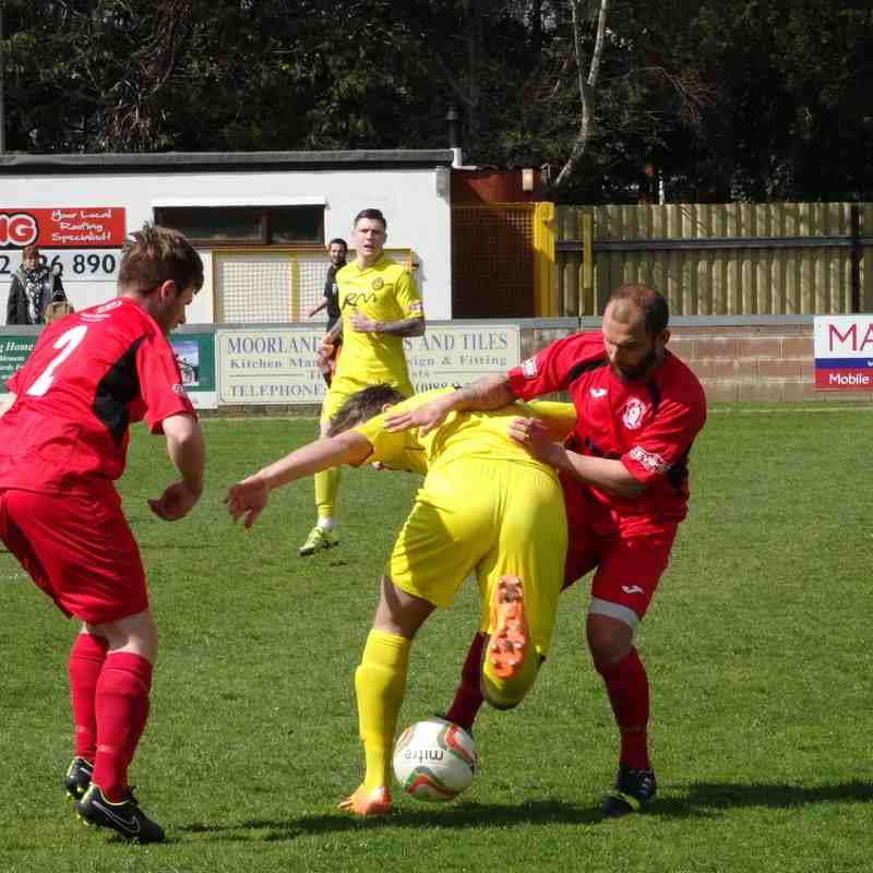 1st Team v Tiverton Town - 23rd April 2016