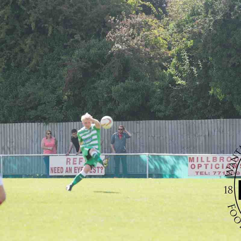 1st Team v Didcot Town - Mon 29 Aug 2016