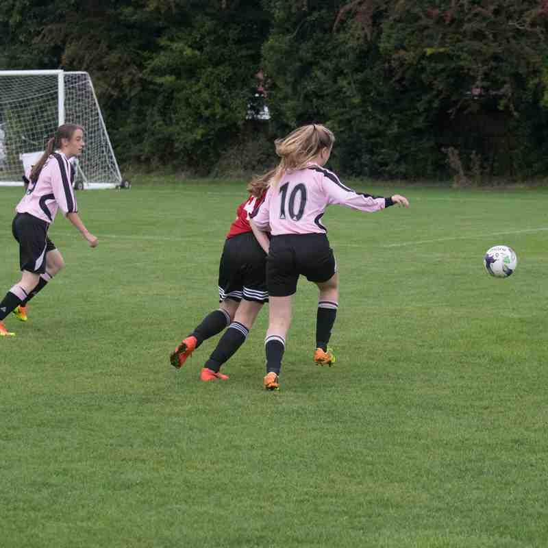 Girls U18s v Tilehurst Panthers - Sat 17 Sep 2016