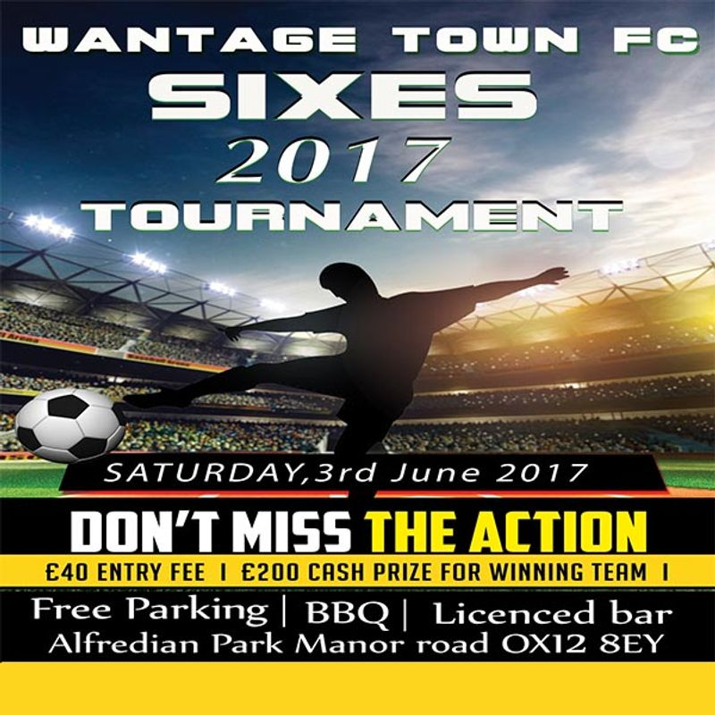 Wantage Town FC Mens and Ladies 6 aside Tournament 3/4 June 2017