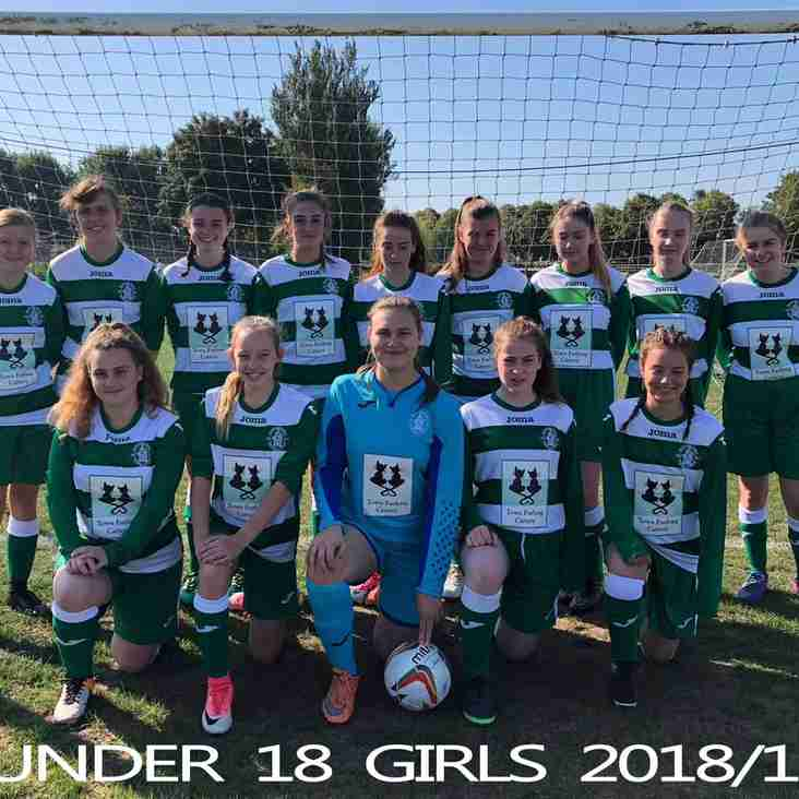 U18s Girls Players Wanted
