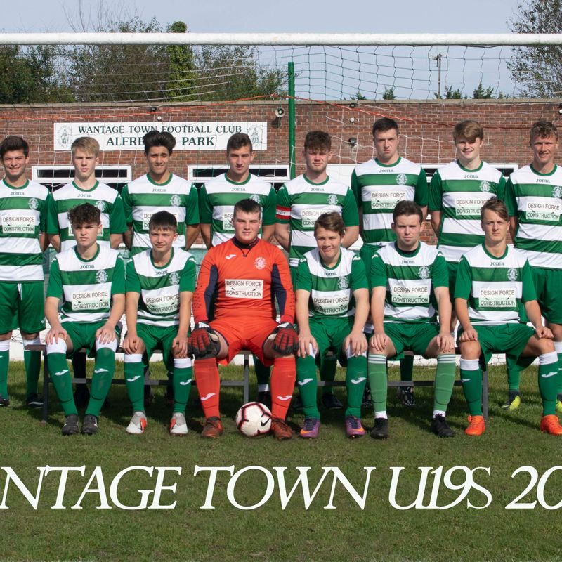 Under 19s (Men) lose to Wallingford Town AFC U19 3 - 4