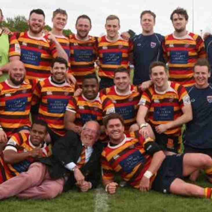 Oxford Mail Report: Brilliant Bicester beat Trowbridge to WIN Southern Counties Play Off