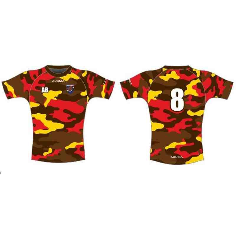 Camo Style Training Shirt