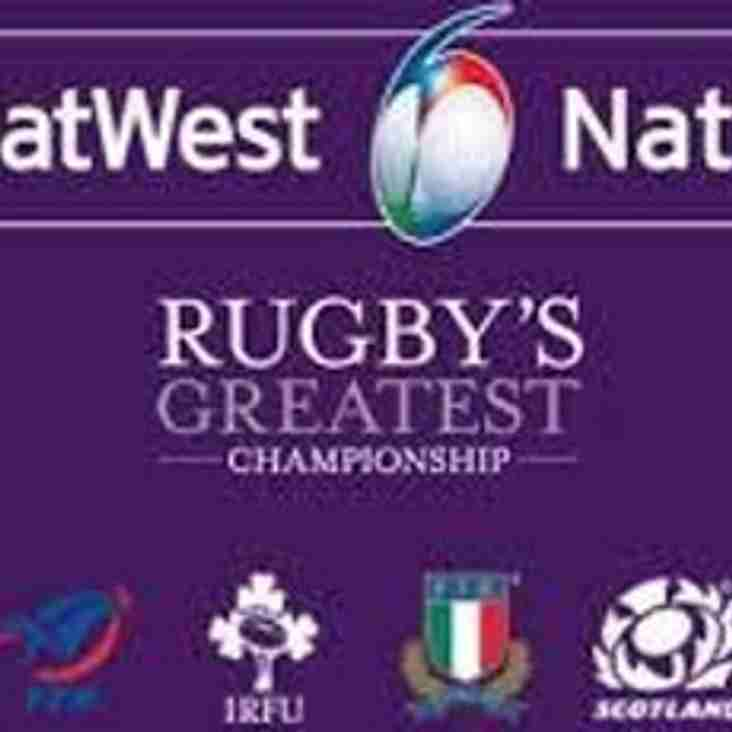 The Trophy Bar is OPEN this Saturday for the Six Nations