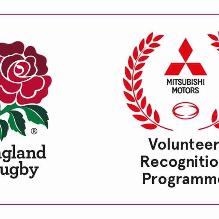 RFU Volunteer Recognition Programme