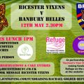 Ladies Lunch - Great Bicester Bake Off & the FIRST Vixens Rugby Game