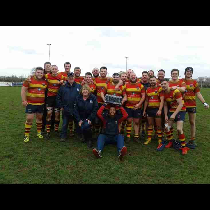 Wadsworth 6X Team of the Month celebrate with 6 tries and a bonus point win!