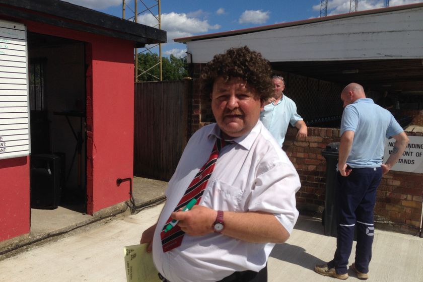 HARES LOSE A REAL CLUB LEGEND TODAY